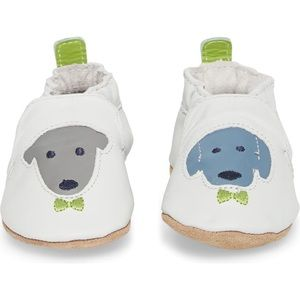 Robeez Soft Sole Baby Shoes - 0-6 Mos